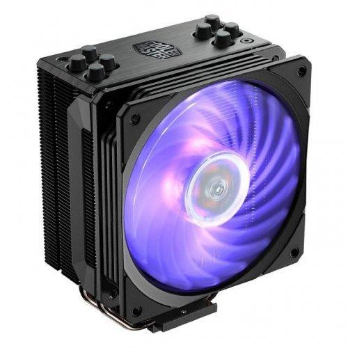 Въздушно охлаждане на процесор Охладител за процесор Cooler Master Hyper 212 RGB Black Edition, AMD/INTEL (снимка 1)