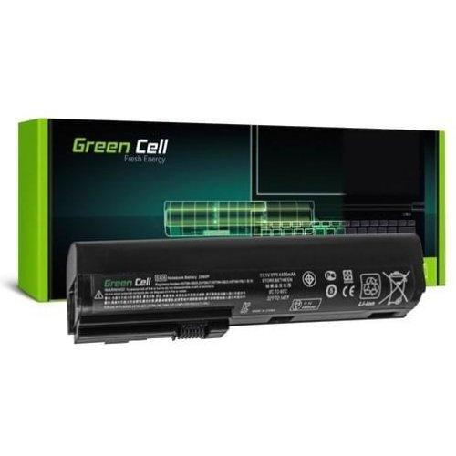 Батерия за лаптоп GREEN CELL HP Elitbook 2560p/2570p, 11.1V, 4400mAh, Черен (снимка 1)