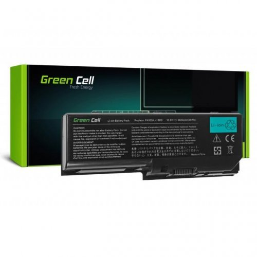 Батерия за лаптоп GREEN CELL Toshiba Satellite P200 P300 X200 L350 Satego X200 P200 PA3536U 10.8V 4400 mAh (снимка 1)