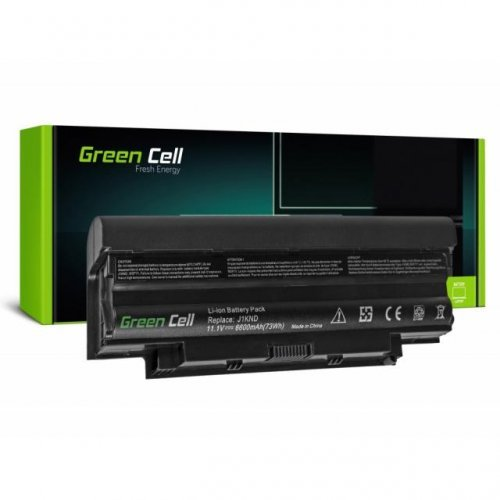 Батерия за лаптоп GREEN CELL Dell Inspiron 15 N5010 15R N5010 N5010 N5110 14R N5110 3550 Vostro 3550 11.1V 6600mAh (снимка 1)