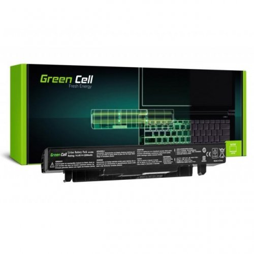 Батерия за лаптоп GREEN CELL ASUS A41-X550A 14.4V 2.2Ah  (снимка 1)