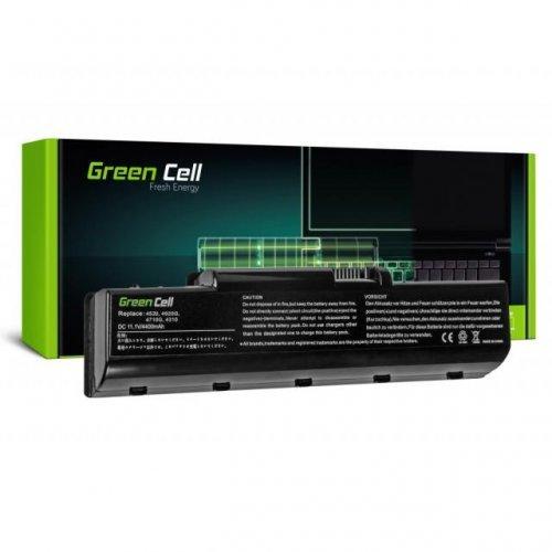 Батерия за лаптоп GREEN CELL Acer Aspire 4310/4520/4710/4920/4930G AS07A41/ASO7A42 11.1V/4400mAh  (снимка 1)