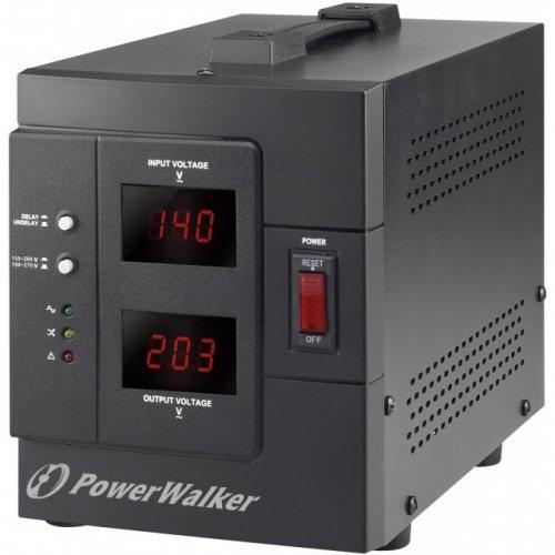 Стабилизатор POWERWALKER AVR 2000 SIV, 2000VA (снимка 1)