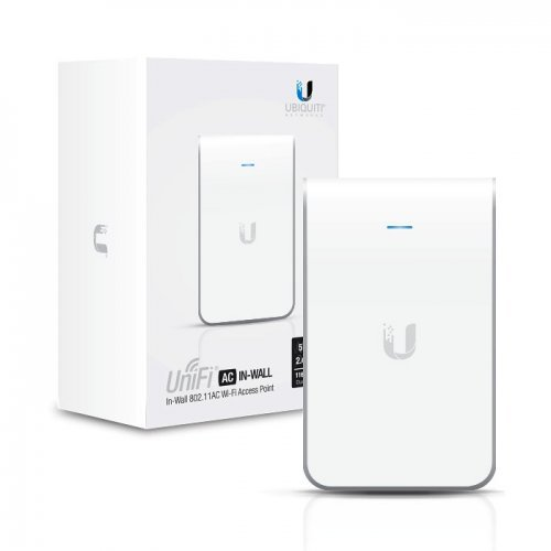 Access Point Аксес пойнт, Ubiquiti UniFi AP, AC, In Wall (снимка 1)