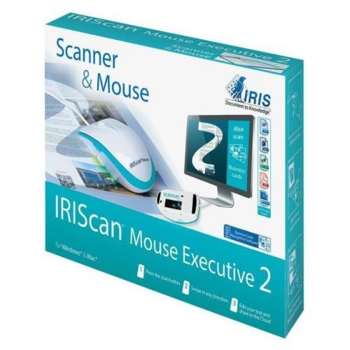 Скенер Мишка + Скенер в едно iris IRIScan Mouse Executive 2 All in one, A4, USB2.0 (снимка 1)