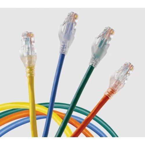 Кабел Patch cable, Пач кабел UTP CAT.5E/6E 1 метър с фабрично прикачени RJ45, различни цветове (снимка 1)