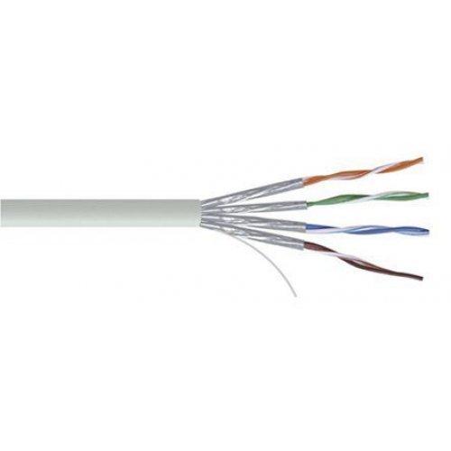 Кабел KELine STP екраниран кабел (всеки чифт индивидуално екраниран с фолио) 4x2xAWG23, Категория 6ᴀ 500м Макара (снимка 1)