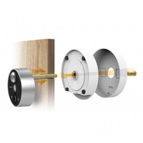 Дигитална камера Edimax IC-6220DC за шпионка на врата, безжична, нощно виждане, двупосочно аудио (снимка 1)