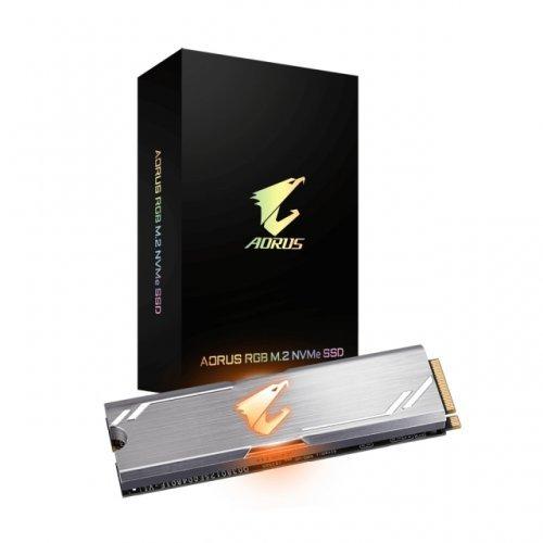 SSD Gigabyte 512GB, Aorus RGB, M.2 PCIe SSD (снимка 1)