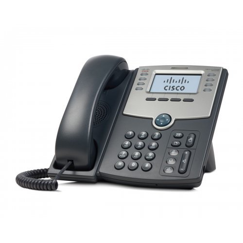 IP Телефон IP Телефон CISCO SPA508G 8 Line IP Phone With Display, PoE and PC Port (снимка 1)