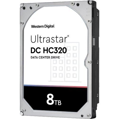 """Твърд диск WD 8TB Ultrastar DC HC320 7K8 3.5"""" SAS 7200rpm 256MB (5 years warranty) (снимка 1)"""
