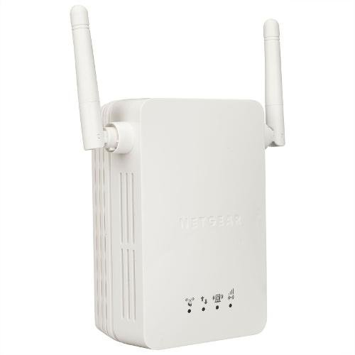Access Point Netgear WN3000RP, N300 WiFi Range Extender (1 x 10/100), 2 external antennas, direct power (снимка 1)