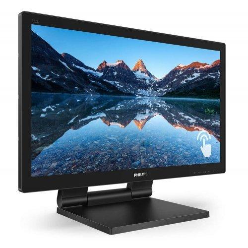 """Монитор Philips 222B9T, 21.5"""" Wide TN LED, 2 ms, 1000:1, 50M:1 DCR, 250 cd/m2, 1920x1080 (снимка 1)"""