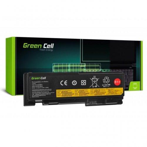 Батерия за лаптоп Lenovo ThinkPad T420s T420si T430s 42T4846 11.1V 3600mAh GREEN CELL (снимка 1)