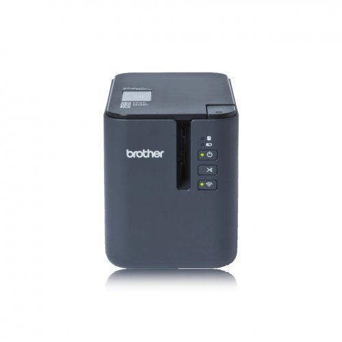 Етикетен принтер Brother P-Touch PTP900WYJ1, Label Printer, Desktop WiFi Speed up to 60mm/s Die cut (снимка 1)