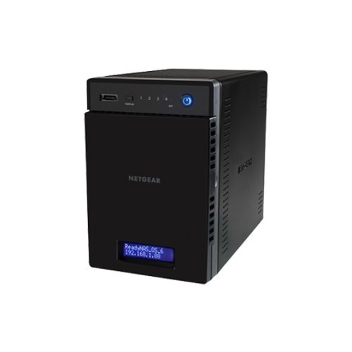 NAS устройство Netgear READYNAS 214 (4 BAY DISKLESS), QC 1,4GHz ARM, 2G RAM, 2 x Gigabit ports, 3 x USB 3.0, 1 x eSATA (снимка 1)