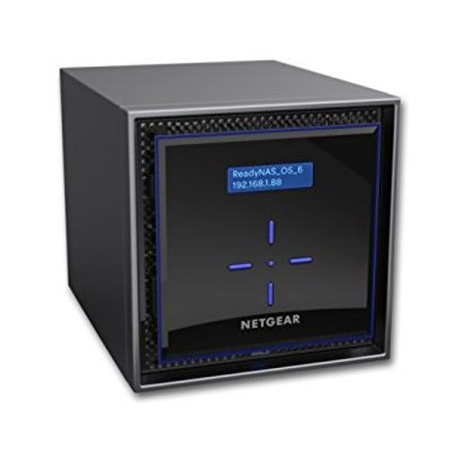 NAS устройство Netgear ReadyNAS 424 (4 BAY DISKLESS), DC Atom C3338, 2GB RAM, 2 x Gigabit ports, 3 x USB, 1 x eSATA (снимка 1)