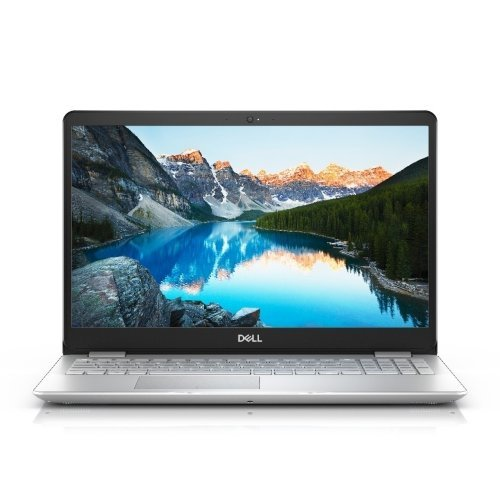 "Лаптоп Dell Inspiron 15 5584, сребрист, 15.6"" (39.62см.) 1920x1080 (Full HD) без отблясъци 60Hz TN, Процесор Intel Core i5-8265U (4x/8x), Видео nVidia GeForce MX130/ 2GB GDDR5, 8GB DDR4 RAM, 1TB HDD диск, без опт. у-во, Linux Ubuntu ОС, Клавиатура- светеща (снимка 1)"
