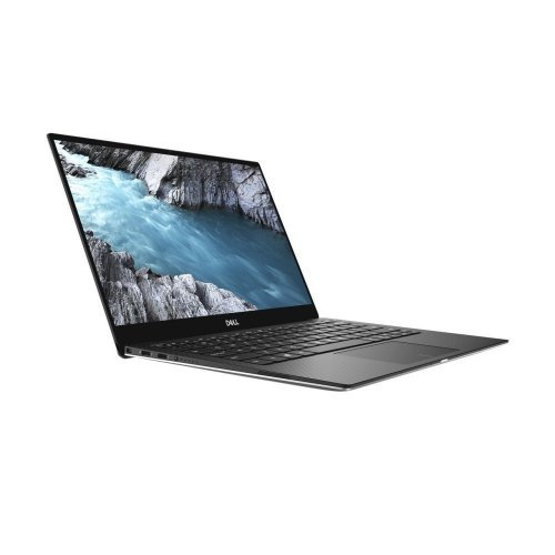 """Лаптоп Dell XPS 13 9380, сребрист и черен отвътре, 13.3"""" (33.78см.) 1920x1080 (Full HD) без отблясъци 60Hz IPS, Процесор Intel Core i7-8565U (4x/8x), Видео Intel UHD 620, 16GB LPDDR3 RAM, 512GB SSD диск, без опт. у-во, Linux Ubuntu ОС, Клавиатура- светеща (снимка 1)"""
