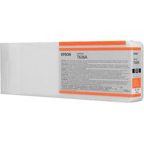 Epson T636 Ink Cartridge Orange 700 ml (снимка 1)