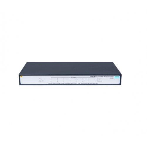 Суич HPE 1420 8G PoE+ (64W) Switch (снимка 1)
