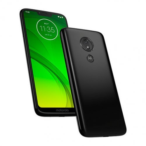 "Смартфон Motorola G7 POWER, 6.2"", 4/64 GB, Snapdragon 632, Dual SIM, Black (снимка 1)"