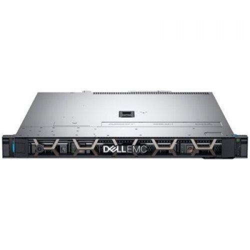 """Сървър Dell PowerEdge R340,Xeon E-2124 3.3GHz, 8M cache, 4C/4T,3.5"""" Chassis with 4 Hot Plug HDD,Bezel,Riser 1xFHx8 1xLPx4 PCIe Gen3,8GB 2666MT/s DDR4 ECC UDIMM,iDrac9 Bas,1TB 7.2K SATA 6Gbps Hot-plug,PERC H330 RAID,no ODD,TPM 1.2,On-Board LOM,Rails,3Y NBD (снимка 1)"""