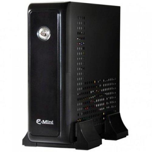 Компютърна кутия E-mini 3001 Black/Silver 120W DC/DC 12V5A Adapter (снимка 1)