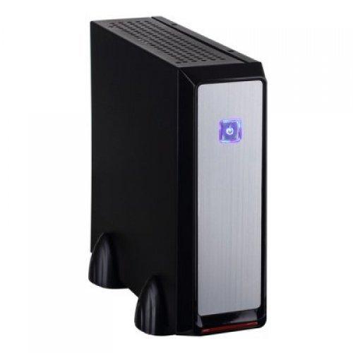 Компютърна кутия E-mini 3019 Black, 120W DC/DC + 12V/5A adapter, Mini-ITX chassis (снимка 1)