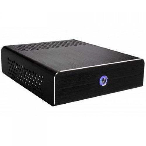 Компютърна кутия E-mini I3 Black, Brushed Aluminium, 120W DC/DC 12V/5A Adapter (снимка 1)