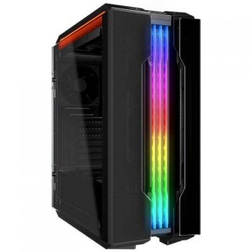 Компютърна кутия COUGAR Gemini T,Middle Tower,227 x 535 x 527 (mm),Mini ITX / Micro ATX / ATX / CEB / E-ATX,USB 3.1 Type-C x 1 / USB3.0 x 2, Mic x 1 / Audio x 1, RGB Control Button, PSU-Standard ATX PS2 (снимка 1)