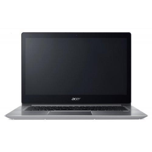 "Ултрабук Acer Ultrabook Aspire Swift 3 SF314-52-812Y, сребрист, 14.0"" (35.56см.) 1920x1080 (Full HD) лъскав IPS, Процесор Intel Core i7-8550U (4x/8x), Видео Intel HD 620, 8GB DDR4 RAM, 512GB SSD диск, без опт. у-во, Windows 10 64 ОС, Клавиатура- с БДС + раница Acer 14"" Slim 3in1 Backpack for Spin /Swift, Black/Gray, NP.BAG1A.289 (снимка 1)"
