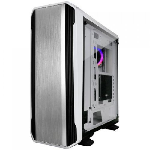 "Компютърна кутия Raidmax MAGNUS Z23TW Tower, ATX, 7 slots, 2 X 3.5"" H.D., 4X 2.5""H.D / 1 x USB3.0,1 x USB2.0,HD Audio x 2, PSU Optional, 3 X 120mm fan, 1 x120,565x266x570mm White (снимка 1)"