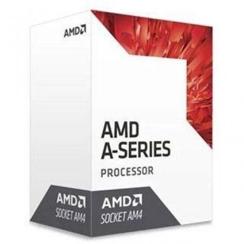 Процесор AMD Bristol Ridge A6-9400, s.AM4, 2C/2T, 3.7GHz, 1MB, 65W, GPU- Radeon R5 Series, box (снимка 1)