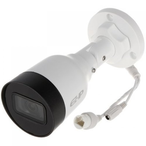 "IP камера Dahua IP camera 2MP, mini-bullet Water-prof, 1/2.7"" CMOS, 1920×1080 Effective Pixels, H.265, 30fps@1080P, Focal Length 2.8mm, 115° view angle, Max IR distance 30m, 0.09Lux/F2.0, 0Lux/F2.0 IR on, DC12V, PoE, 4.2W, IP67. (снимка 1)"