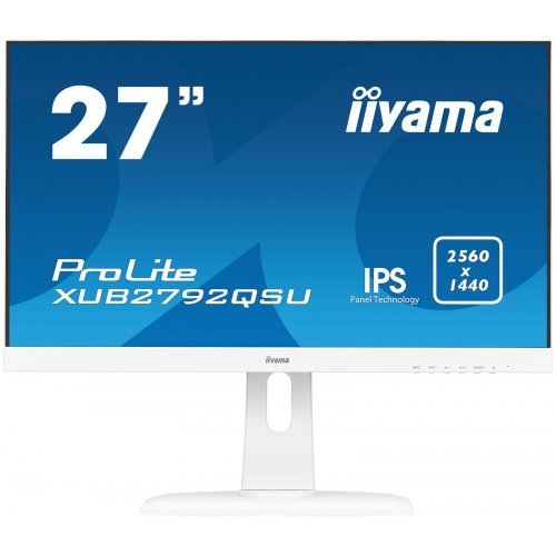 "Монитор IIYAMA 27"" XUB2792QSU-W1 (снимка 1)"