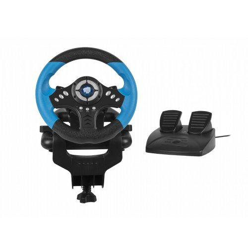 Fury волан с педали Racing Wheel SKIPPER - NFK-1327 (снимка 1)