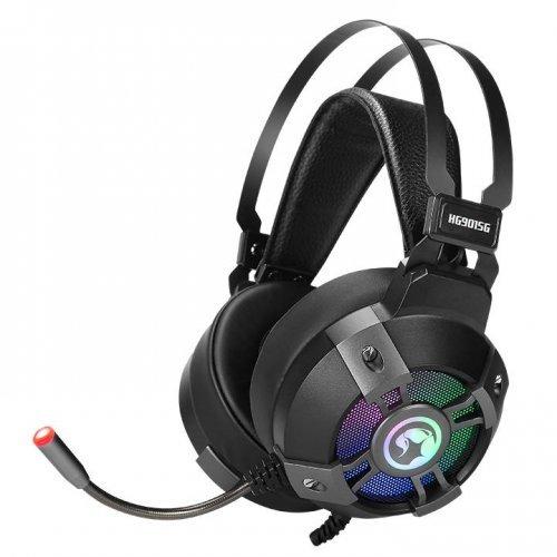 Слушалки Marvo геймърски слушалки Gaming Headphones HG9015G - 7.1 RGB (снимка 1)