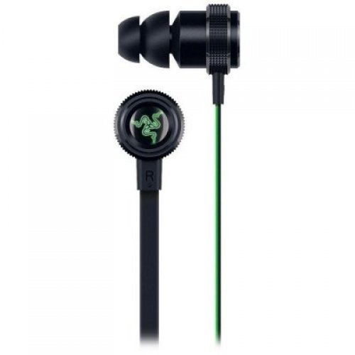 Слушалки Razer Hammerhead Bluetooth, microphone and in-line remote, Bluetooth wireless range : 10 m, Battery life : Up to 8 hours, Charge time : Up to 2 hours, 10 mm with Neodymium magnets, Frequency response: 20 Hz - 20kHz, Impedance: 32 ± 15% Ω (снимка 1)