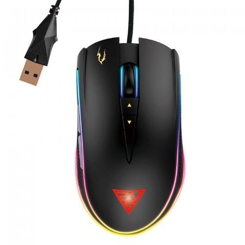Мишка Gamdias геймърска мишка Gaming Mouse - ZEUS P2 - 16000dpi, RGB (снимка 1)