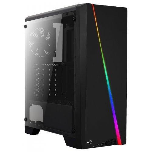 Компютърна кутия AeroCool кутия Case ATX - Cylon BG - RGB, Tempered glass - ACCM-PV10013.11 (снимка 1)