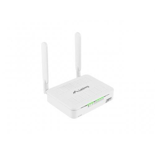 Безжичен рутер Lanberg рутер Router Wireless 1200Mbps Dual-Band Gigabit 2T2R RO-120GE (снимка 1)