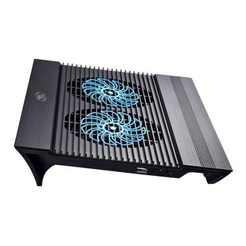 """Стендове за лаптопи DeepCool N8 до 17"""", Охлаждаща подложка за лаптоп  (снимка 1)"""