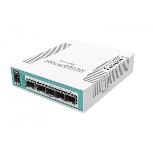Безжичен рутер Облачен рутер-комутатор Mikrotik Cloud Switch Router CRS106-1C-5S (снимка 1)