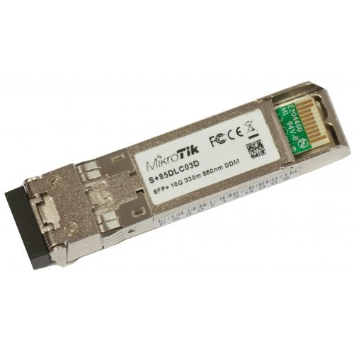 Медиа ковертор Оптичен преходник MIKROTIK SFP S+85DLC03D (снимка 1)