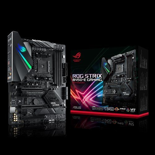 Дънна платка ASUS ROG STRIX B450-E GAMING, s. AMD AM4, AMD B450 (снимка 1)