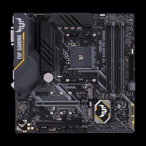 Дънна платка Asus TUF B450M-PRO GAMING, s. AM4, AMD B450 (снимка 1)