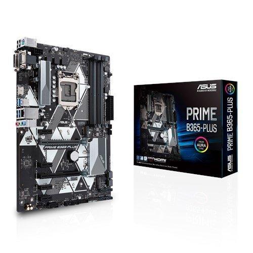 Дънна платка Asus PRIME B365-PLUS, s. 1151, Intel B365 (снимка 1)