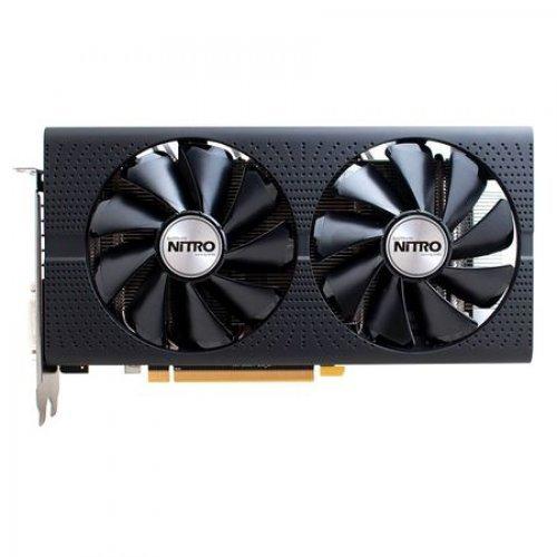 Видео карта Ati Sapphire Nitro RX480 8G Lite, Radeon RX 480, 8GB GDDR5 (снимка 1)
