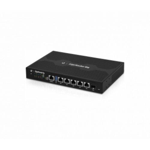 Жичен рутер Ubiquiti ER-6P, 4-port 10/100/1000M, 1xSFP, 3,4 million pps (снимка 1)